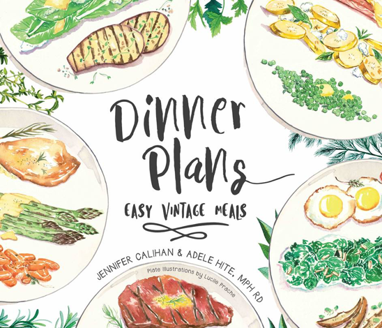 Dinner plans easy vintage meals food planner specialtyhealth dinner plans easy vintage meals food planner forumfinder Images